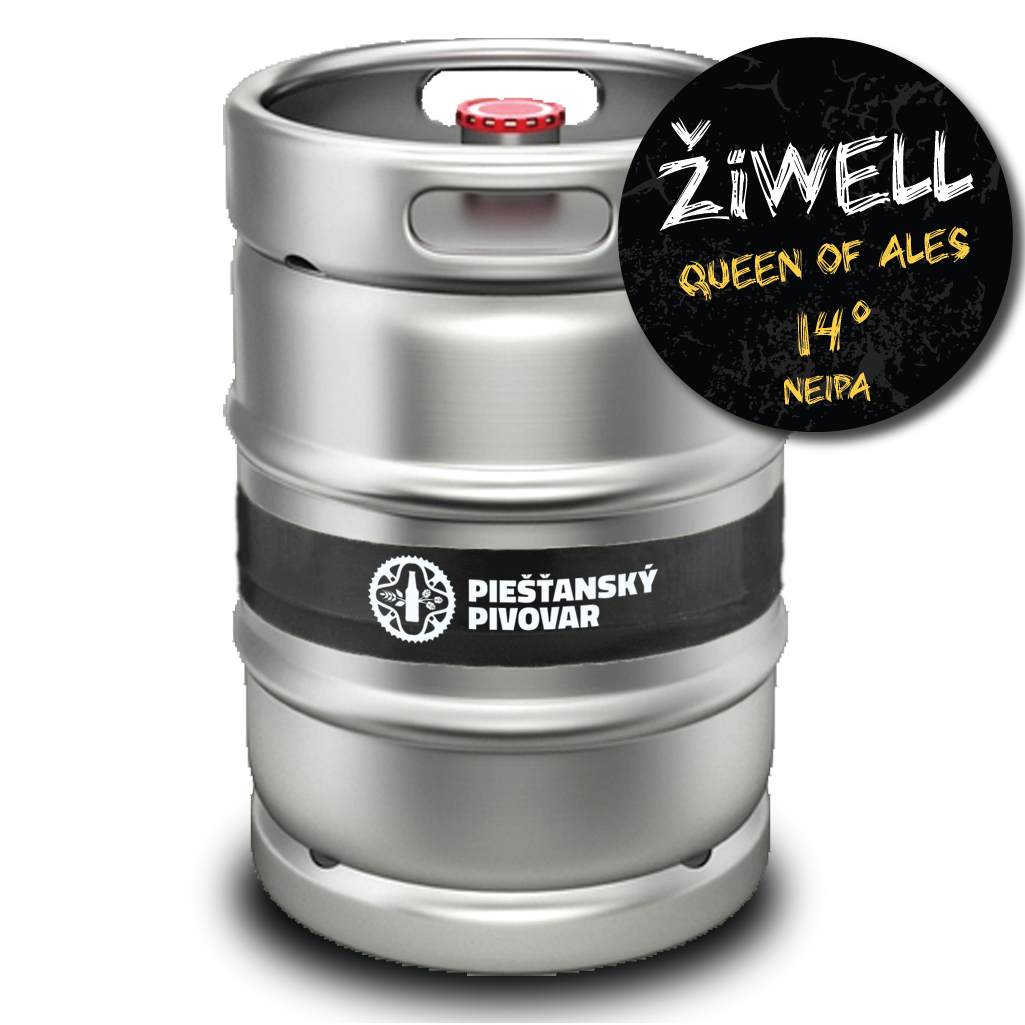 ŽiWELL Queen of Ales 50l keg