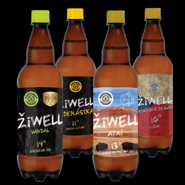 ŽiWELL 1,5l fľaše
