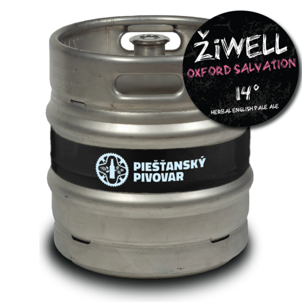 ŽiWELL Oxford Salvation 30l Herbal English Pale Ale