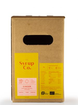 ginger lemon lime bio sirup