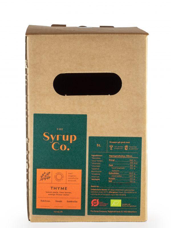 BIO sirup Citrónový Tymian - Limonáda